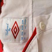Vintage England EURO 2012 2013 home shirt Umbro jersey size L 44 (2)