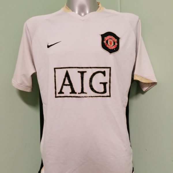 Vintage Manchester United 2006 2007 away shirt Nike Rooney 8 jersey size L (1)