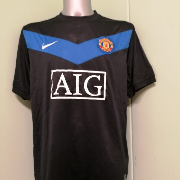 Vintage Manchester United 2009 2010 away shirt Nike football top size XL (1)