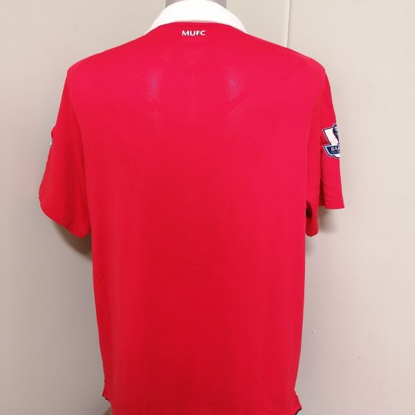 Vintage Manchester United 2010 2011 home Nike football shirt size XL (4)