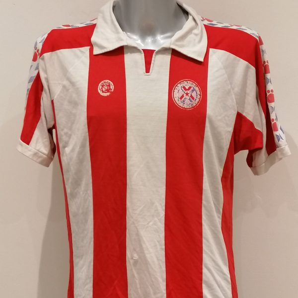 Vintage Paraguay ca. 1990 home shirt Veco football top #6 size L (1)