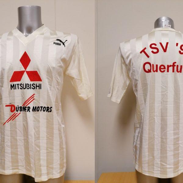 Vintage Puma 1990ies white german amateur football shirt size M (1)
