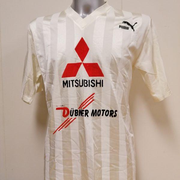Vintage Puma 1990ies white german amateur football shirt size M (2)