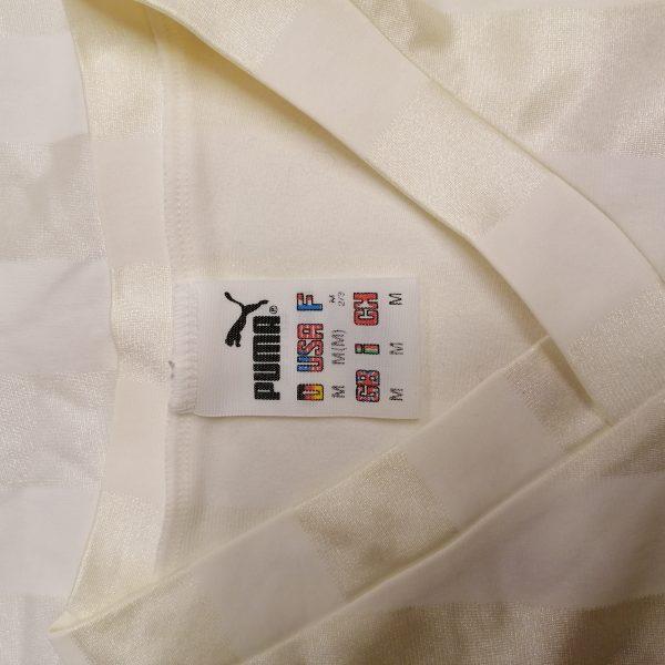 Vintage Puma 1990ies white german amateur football shirt size M (4)
