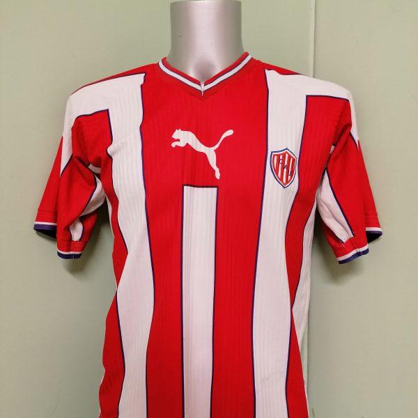 Vintage Union de Santa Fe 1999 2000 home shirt Puma size M (2) cropped