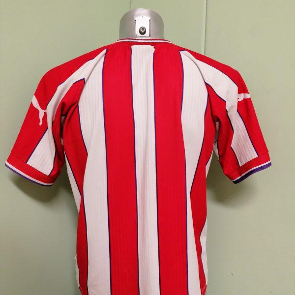 Vintage Union de Santa Fe 1999 2000 home shirt Puma size M (4) cropped