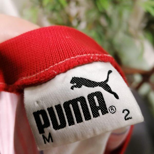 Vintage Union de Santa Fe 1999 2000 home shirt Puma size M (5) cropped