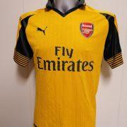 Arsenal 2016 2017 away shirt Puma football top jersey size M (1)