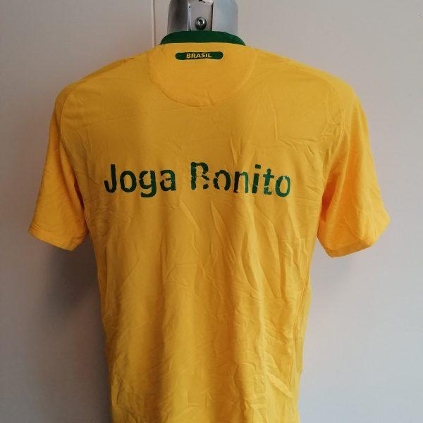Brazil World Cup 2010 2011 home shirt Nike Brasil football top size M (4)