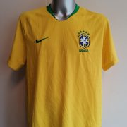 Brazil World Cup 2018 2019 Nike home shirt soccer jersey size XXL (1)