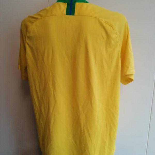 Brazil World Cup 2018 2019 Nike home shirt soccer jersey size XXL (2)