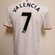 Manchester United 2012 2013 2014 away shirt Nike football top Valencia 7 size M (3)