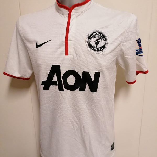 Manchester United 2012 2013 2014 away shirt Nike football top Valencia 7 size M (4)