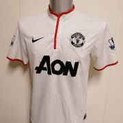Manchester United 2012 2013 2014 away shirt Nike football top Valencia 7 size M (5)