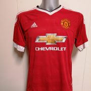 Manchester United 2015 2016 home shirt adidas football top size L (1)