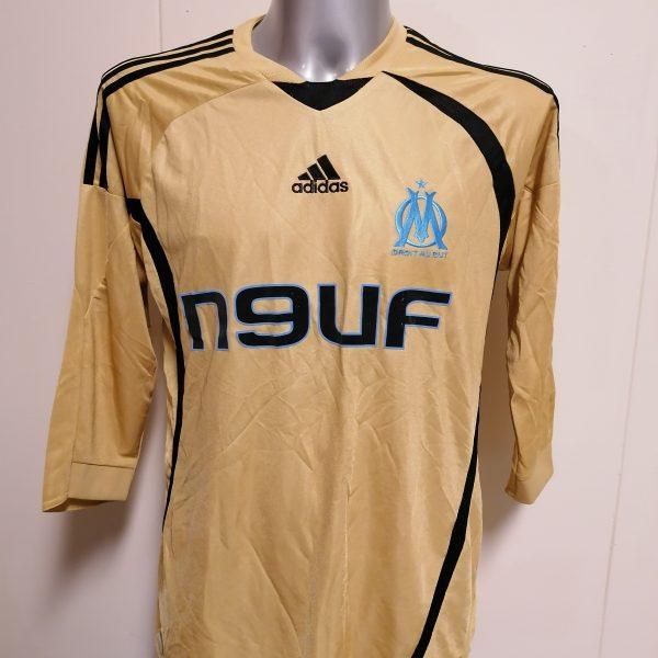 Olympique Marseille 2008 2009 third shirt adidas football top size M (1)