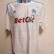 Olympique Marseille 2010 2011 home shirt adidas football top size XL (4)