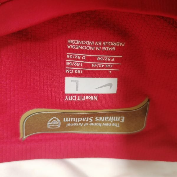 Vintage Arsenal 2006 2007 2008 home shirt Nike football top size L (4)
