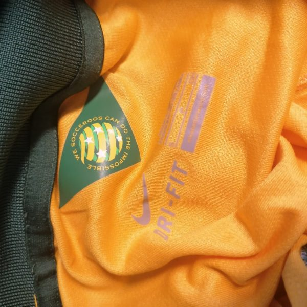Vintage Australia World Cup 2014 2015 home shirt Nike jersey size S (1)
