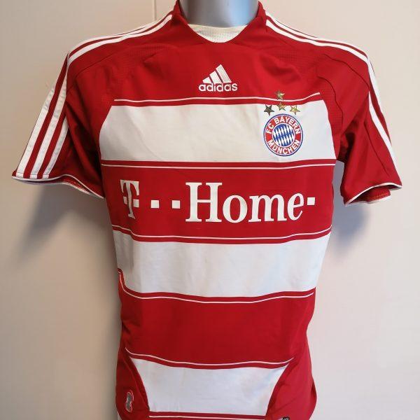 Vintage Bayern Munchen 2008 2009 home shirt adidas trikot top size S (1)