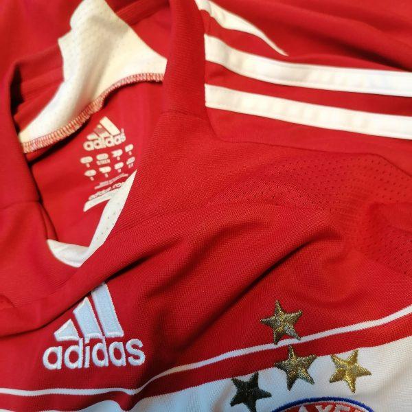 Vintage Bayern Munchen 2008 2009 home shirt adidas trikot top size S (3)