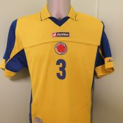 Vintage Colombia 2003 2004 Home Shirt Lotto Football Jersey Ypes 3 size M (1)