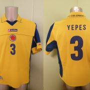 Vintage Colombia 2003 2004 Home Shirt Lotto Football Jersey Ypes 3 size M