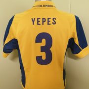 Vintage Colombia 2003 2004 Home Shirt Lotto Football Jersey Ypes 3 size M (3)