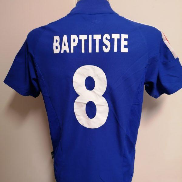 Vintage France World Cup 2002 2003 2004 home shirt adidas Baptitste 8 size S (1)
