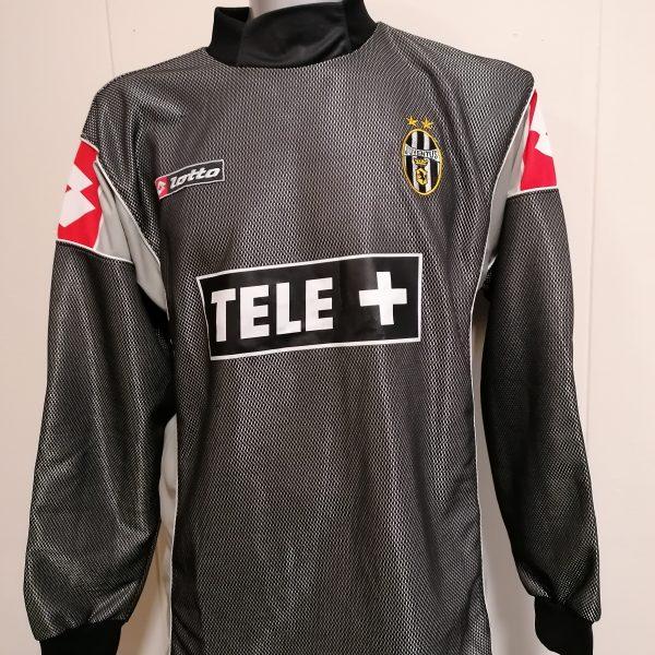 Vintage Juventus 2000 2001 padded goal keeper shirt Lotto jersey size L (1)