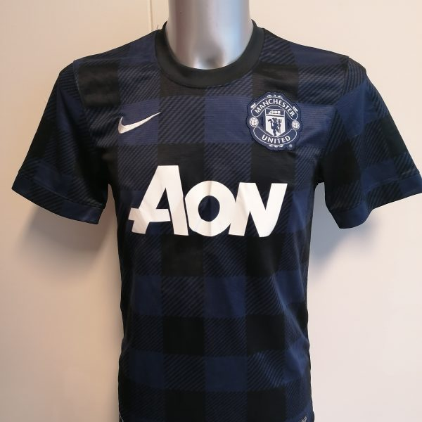 Vintage Manchester United 2013 2014 away shirt Nike football top size S (1)