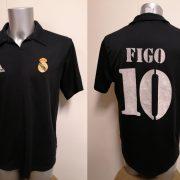 Vintage Real Madrid 2002 2003 Centenary away shirt adidas Figo 10 size M (1)