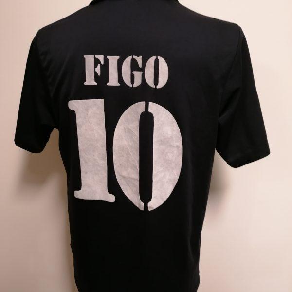 Vintage Real Madrid 2002 2003 Centenary away shirt adidas Figo 10 size M (3)
