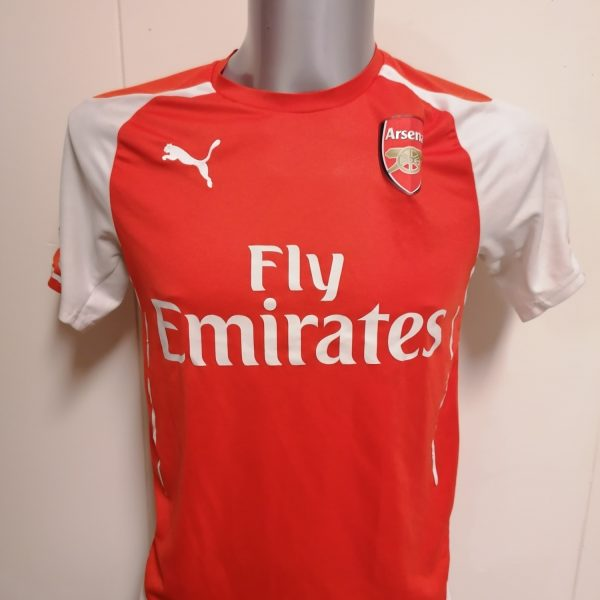 Arsenal 2014 2015 home shirt Puma football top jersey size S (2)