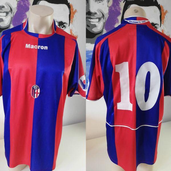 Bologna 2004 2005 home shirt Maron maglia jersey #10 size XL