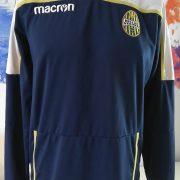 Hellas Verona training sweater blue Macron jumper size L (1)