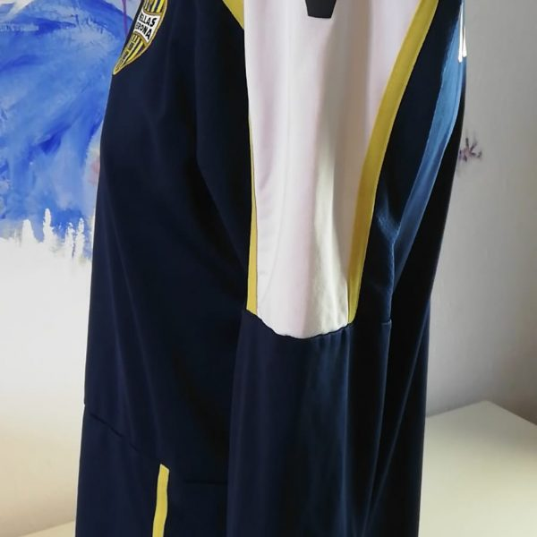 Hellas Verona training sweater blue Macron jumper size L (4)