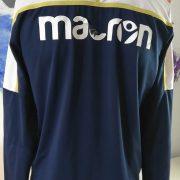 Hellas Verona training sweater blue Macron jumper size L (5)