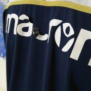 Hellas Verona training sweater blue Macron jumper size L (6)