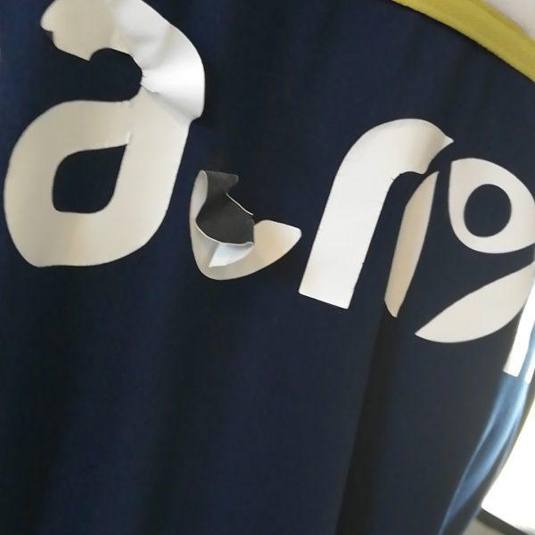 Hellas Verona training sweater blue Macron jumper size L (7)