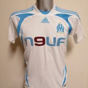 Olympique Marseille 2007 2008 home shirt adidas football top size Boys L 14Y 164cm (1)