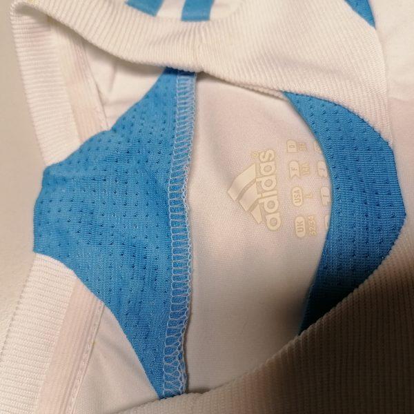 Olympique Marseille 2007 2008 home shirt adidas football top size Boys L 14Y 164cm (3)