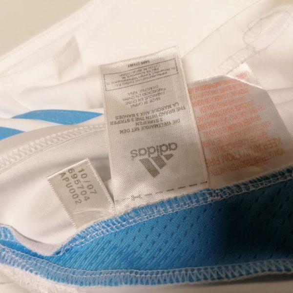 Olympique Marseille 2007 2008 home shirt adidas football top size Boys L 14Y 164cm (4)