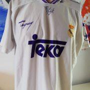 Real Madrid 1996 home shirt Taquy Raul 17 (4)