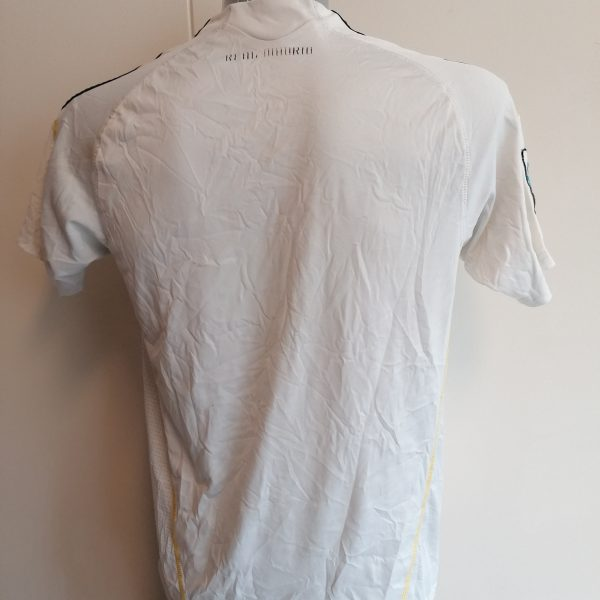 Real Madrid 2009 2010 LFP home football shirt adidas size Boys XL 164cm (1)