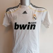 Real Madrid 2009 2010 LFP home football shirt adidas size Boys XL 164cm (5)