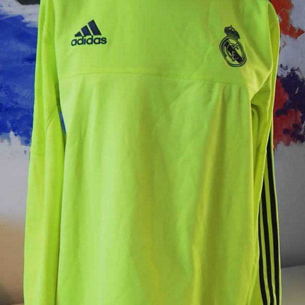 Real Madrid 2015 2016 training sweater football jumper adidas size L (1)