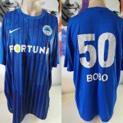 Squad signed Slovan Liberec 2012 2013 home shirt size XXL Bobo 50