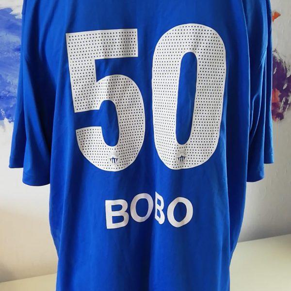 Squad signed Slovan Liberec 2012 2013 home shirt size XXL Bobo 50 (5)