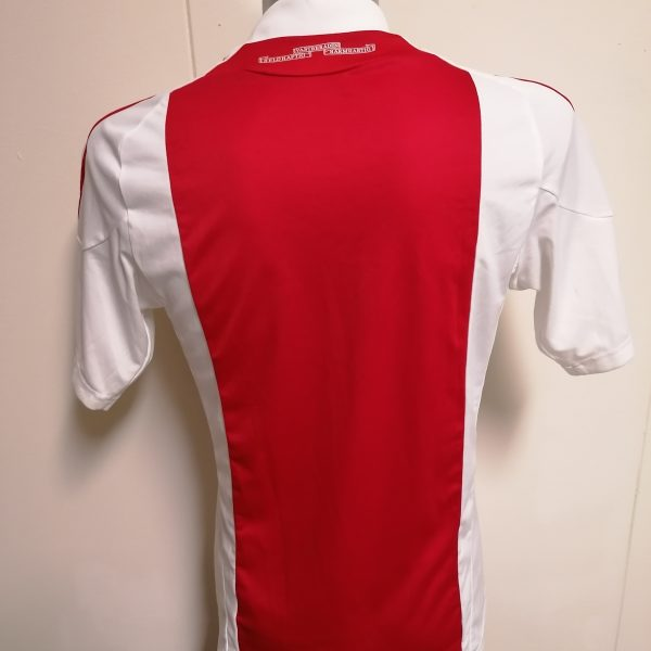 Vintage Ajax 2010 2011 home shirt adidas football top size S (7)